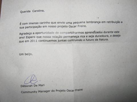 CHEGARAM MEUS PRESENTES DA COMUNIDADE OSCAR FREIRE 3