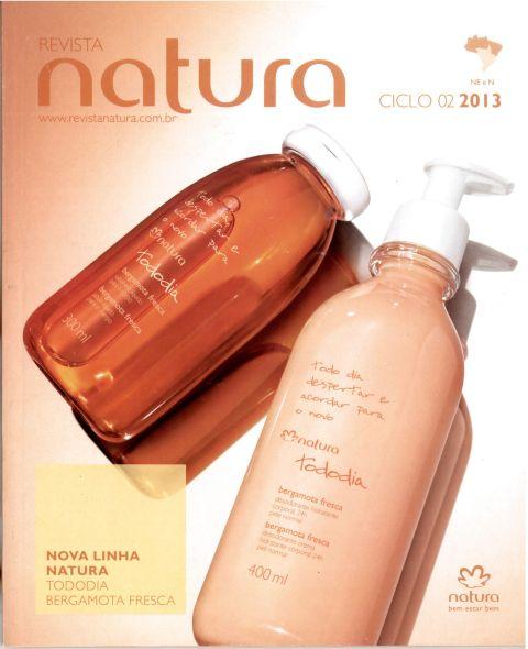 Carolina do Valle Consultora Natura Pronta Entrega Ilhéus Bahia Brasil Natura Ciclo 2.2013 - Capa