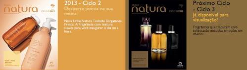 Carolina do Valle – Bertilicia – Consultora Natura – Pronta Entrega – Ilhéus – Bahia – Brasil – Revista Digital Natura Ciclo 02.2013 e Revista Digital Natura Ciclo 03.2013