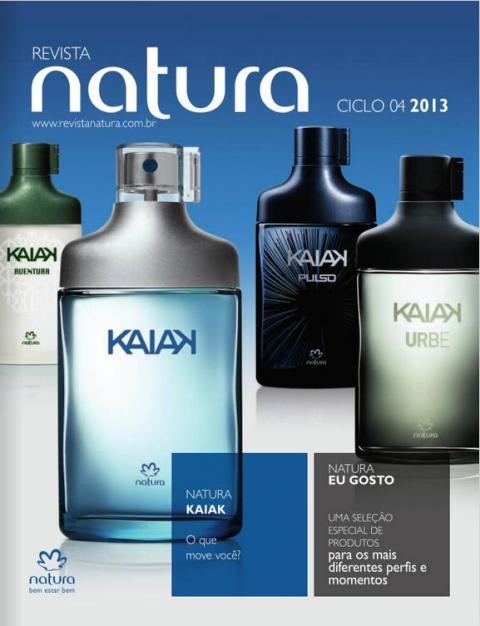 Carolina do Valle Consultora Natura Pronta Entrega Ilheus Bahia Brasil Natura Ciclo 04 2013 Capa
