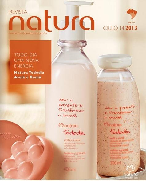 Carolina do Valle Bertilicia Consultora Natura Pronta Entrega Ilhéus Bahia Brasil Revista Natura Ciclo 14.2013 NE e N