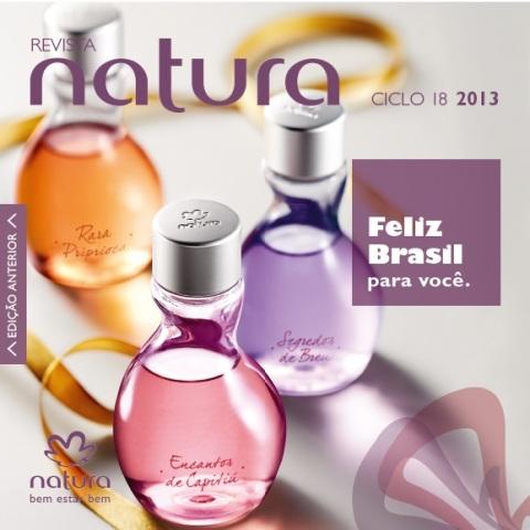 Carolina do Valle Bertilicia Consultora Natura Pronta Entrega Ilhéus Bahia Brasil Revista Natura Ciclo 18.2013 NENO NE e NO
