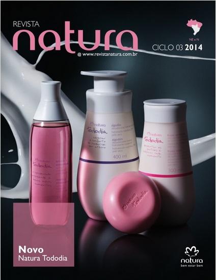 Carolina do Valle Bertilicia Consultora Natura Pronta Entrega Ilhéus Bahia Brasil Revista Natura Ciclo 03.2014 NENO NE e NO