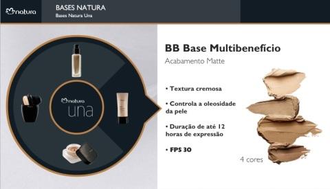 Carolina do Valle Bertilicia Consultora Natura Pronta Entrega Ilhéus Bahia Brasil NATURA UNA BB BASE MULTIBENEFÍCIO