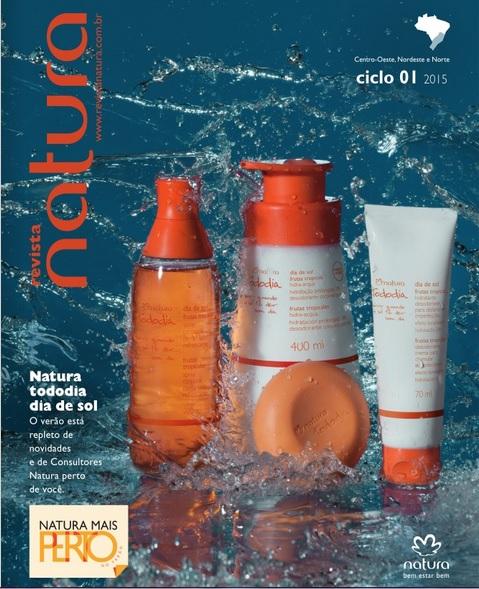 Carolina do Valle Bertilicia Consultora Natura Pronta Entrega Ilhéus Bahia Brasil Revista Natura Ciclo 01.2015 NENO NE e NO