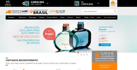 Carolina do Valle Bertilicia CN CND Consultora Natura Digital e Pronta Entrega Ilhéus Bahia Brasil Promoção só hoje 22 12 2014