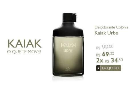 Natura Kaiak Urbe Promoção no Espaço Rede Natura Carolina do Valle até 05 01 2015
