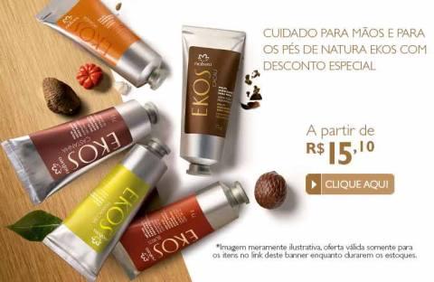 Natura Ekos Promoção no Espaço Rede Natura Carolina do Valle 12 01 2015