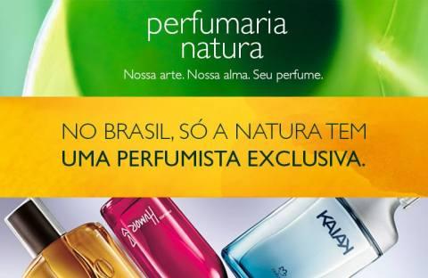 Perfumaria Natura no Rede Natura Espaço Carolina do Valle de 27/01 até 02/02!