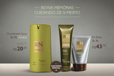 Promoção exclusiva Natura SR N Âmbar do Rede Natura Espaço Carolina do Valle de 27/01 até 02/02!