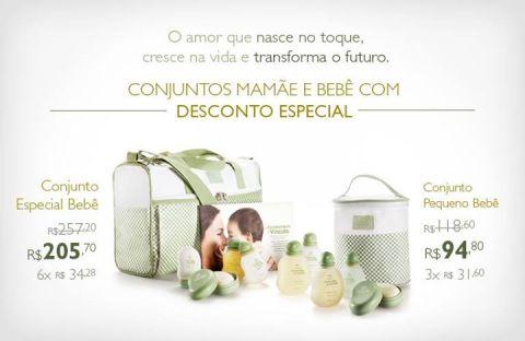Natura Mamãe e Bebê Promoção Rede Natura Espaço Carolina do Valle até 19 01 2015