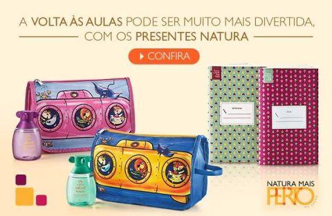 Promoção Volta às Aulas Natura Naturé e Crer Para Ver Rede Natura Espaço Carolina do Valle de 20 até 26 01