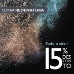 Cupom de desconto REDENATURA 15 por cento Espaço Carolina doValle
