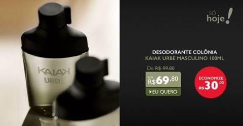 Promoções exclusivas do Rede Natura Espaço Carolina do Valle em 12/03/15 Kaiak Urbe