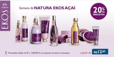 5 Promoções Rede Natura Espaço Carolina do Valle 07 a 13 04 15