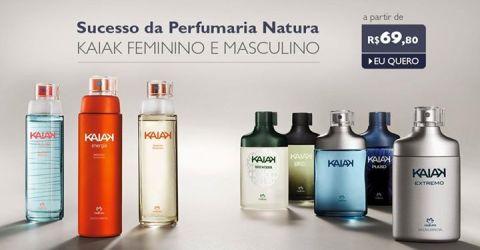 PROMOÇÃO EXTRA KAIAK Natura no Rede Natura Espaço Carolina do Valle até 15/05