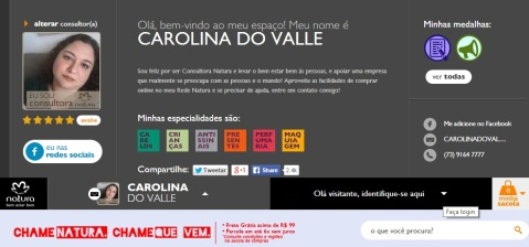 Espaço Rede Natura Carolina do Valle