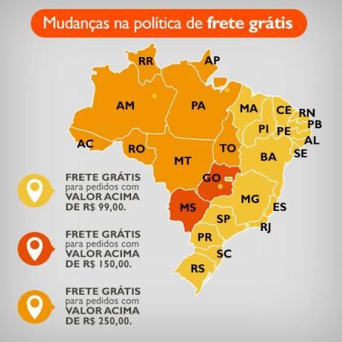 Promoções Rede Natura Espaço Carolina do Valle de 23 a 29 06 MAPA FRETE