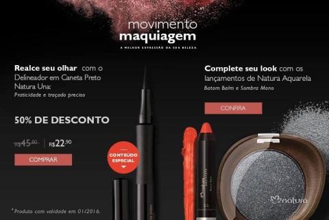 Movimento Maquiagem Natura