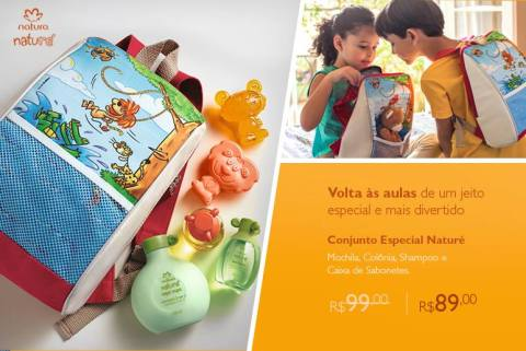 Promoções e Novidades da Rede Natura Espaço Carolina Do Valle (de 28 07 a 03 08) - Natura Naturé