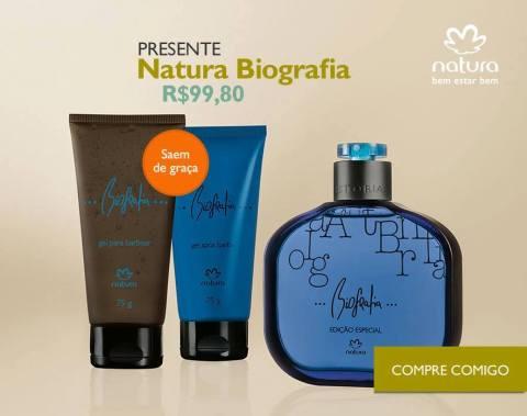 Rede Natura Espaço Carolina Do Valle Presente Natura Dia dos Pais 2015 Natura Biografia