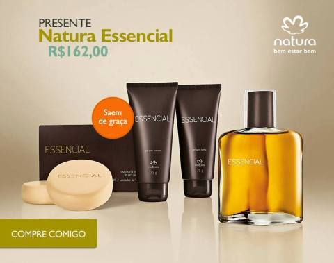 Rede Natura Espaço Carolina Do Valle Presente Natura Dia dos Pais 2015 Natura Essencial