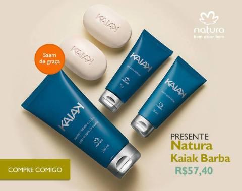 Rede Natura Espaço Carolina Do Valle Presente Natura Dia dos Pais 2015 Natura Kaiak Barba
