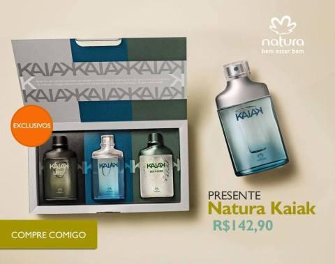 Rede Natura Espaço Carolina Do Valle Presente Natura Dia dos Pais 2015 Natura Kaiak Miniaturas