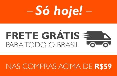 SÓ HOJE: Natura com FRETE GRÁTIS para todo o Brasil nas compras acima de R$ 59,00!