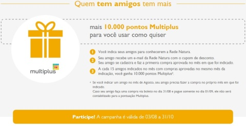 Promoções e Novidades da Rede Natura Espaço Carolina do Valle (de 04 a 1008) 2