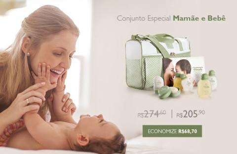 Promoções e Novidades da Rede Natura Espaço Carolina do Valle (de 04 a 1008) Natura Mamãe e Bebê Kit MMBB