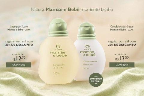 Promoções e Novidades da Rede Natura Espaço Carolina do Valle (de 18 a 2408) Natura MMBB