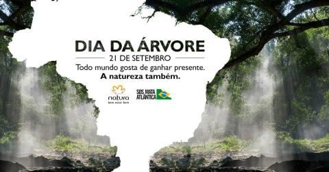 Declare seu amor à natureza comprando Natura