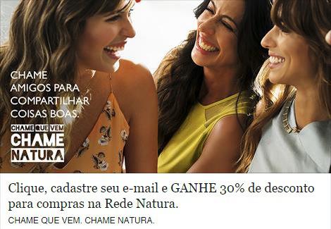 Rede Natura Espaço Carolina do Valle Ganhe Cupom Natura de 30 por cento de desconto