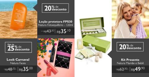 Promoções e Novidades exclusivas Rede Natura Espaço Carolina do Valle (de 26.01 a 01.02.16) 3