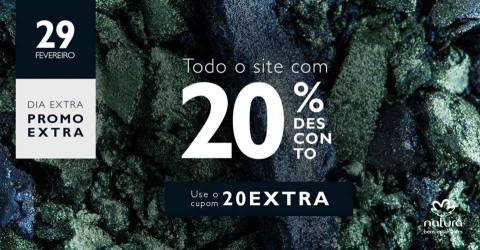 Cupom de 20% Rede Natura Espaço Carolina do Valle