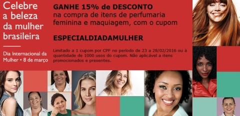 Rede Natura Espaço Carolina do Valle Cupom Dia Internacional da Mulher 08 de março