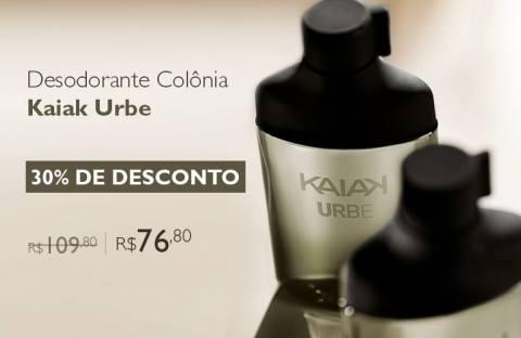 Rede Natura Espaço Carolina do Valle Promoção Kaiak Urbe com 30% de desconto 01 a 07 03 2016