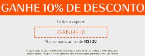 Rede Natura Espaço Carolina do Valle Cupom de Desconto de 10%