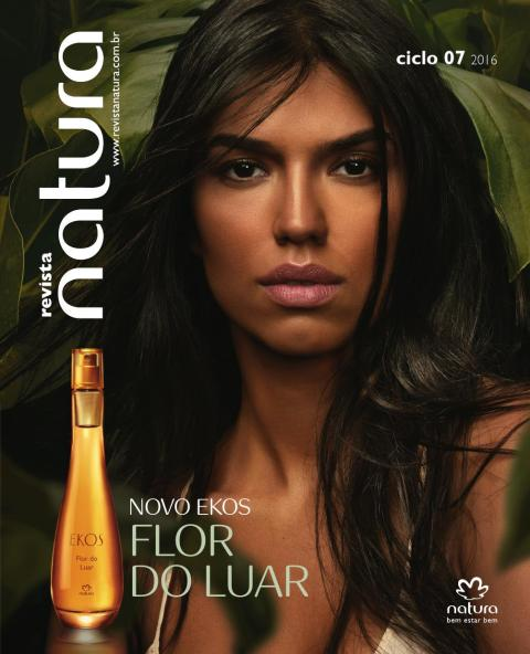 Revista Natura Ciclo 07.2016 Carolina do Valle Consultora Natura Pronta Entrega Ilhéus Bahia