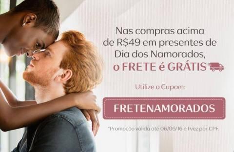 Cupom Natura FRETENAMORADOS Válido de 31 05 a 06 06
