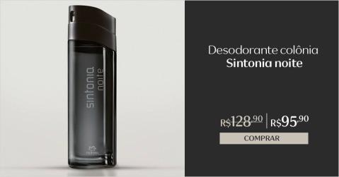 Natura Sintonia Noite Desodorante Colônia com Desconto