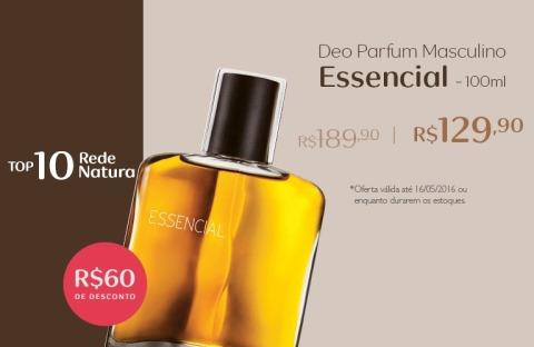 Rede Natura Espaço Carolina do Valle Essencial Masculino Deo Parfum