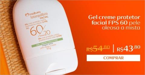 Rede Natura Espaço Carolina do Valle Fotoequilibrio Gel Creme Protetor Facial