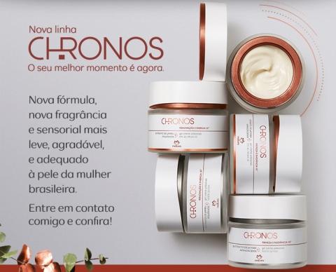 Nova Linha Natura Chronos - nova fórmula