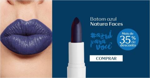 Cores Vibrantes Natura Faces - Azul Para Você