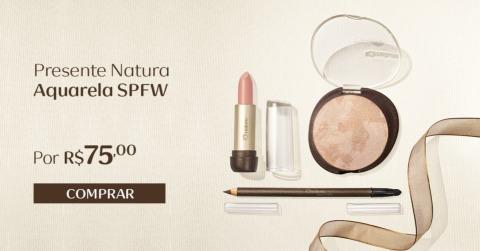 Presente Natura Aquarela SPFW