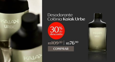 Natura Kaiak Urbe 30% de Desconto