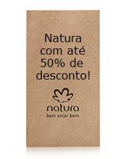 Natura em promoção com até 50% de desconto