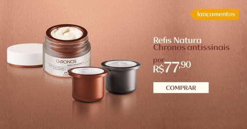 Natura Chronos Antissinais Refil